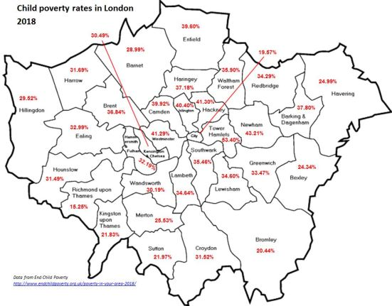 Child Poverty across London FINAL