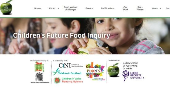 children's future food inquiry